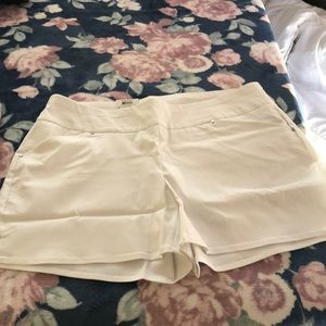 INC White shorts new with tag size 16